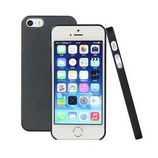 0.3mm Ultra Slim Case Matte Frosted Transparent Clear Case Soft TPU Cover Case for iPhone 5 and 5S Transparent