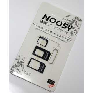 4 In 1 Noosy Nano Micro SIM Adapter
