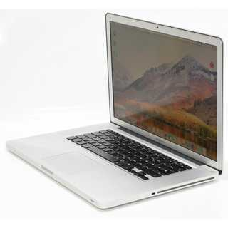 Apple MacBook Pro 8,2 2011 i7-2860QM 2,5 GHz 240 GB SSD 8 GB Ram HD6770M UK QWERTY High Sierra  inkl. Recoverypartition - Magsafe 1 Netzteil 85 W - scratches on left side