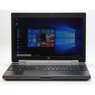 HP 8560w i7-2620M 0 GB Ram 0 GB HDD 1600x900 Webcam Windows 10 Pro mit deutscher Tastatur gelabelt WORKSTATION WIFI Webcam USB 3.0 BT