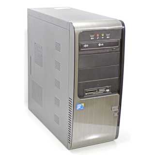 Core2Duo E7600 Business ASUS PC, sehr leise 3,06 GHz  4GB 250 GB DVD+R